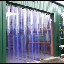 PVC Curtain Blue PVCCB22050
