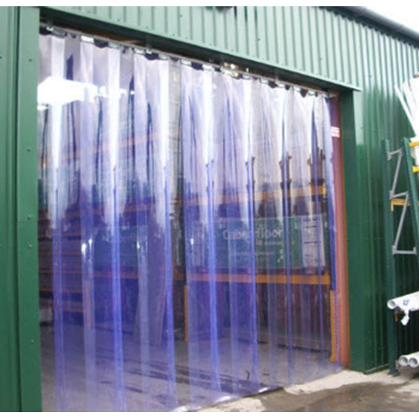 Tirai Plastik PVC Curtain Blue PVCCB22050