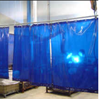 Tirai Plastik PVC Curtain Blue PVCCB220Pot 1