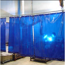 Tirai Plastik PVC Curtain Blue PVCCB220Pot