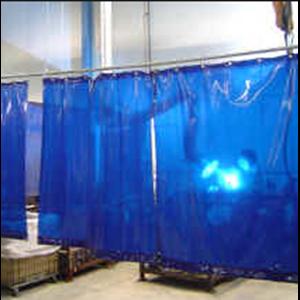 Tirai Plastik PVC Curtain Blue PVCCB220Pot