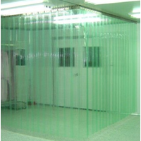 PVC Curtain Green PVCCG22050
