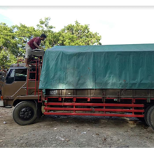 Delivery AKAP Using Large Trucks