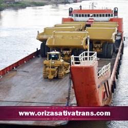 Pengiriman Alat Berat dengan Kapal Tongkang dan LCT
