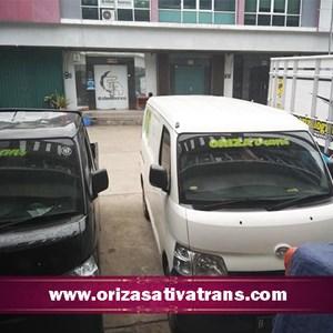Ekspedisi Darat dengan Mobil Blind Van dan Pick Up By Oriza Sativa Trans