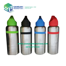Botol Minum Sport Stainless Kombinasi (600 ml)