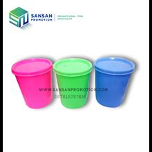 Gelas Promosi Plastik Warna