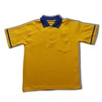 Jual Kaos Polo Single List dengan Kantong