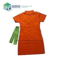 Jual Dress SPG Kerah Shanghai