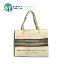 Goodie Bag Stripe Eco (Cream)