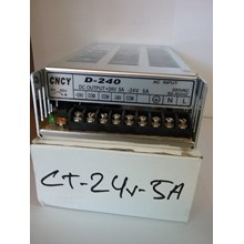 SWITCHING POWER SUPPLY CT24V5A