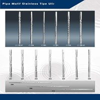 Beli Pipa Ornamen Stainless 201 dan 304 Blue Star 4