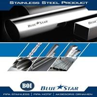 Jual Pipa Kotak Ornamen Stainless 201 dan 304 Blue Star 2