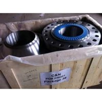 FLANGE WNRF CARBON STEEL ASTM A 105