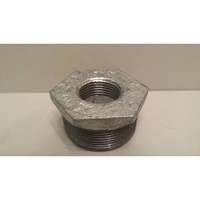 GALVANISED MALLEABLE IRON REDUCING BUSH