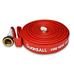 Fire Hose Red Rubber 1.5x20mtr - MC GuardALL