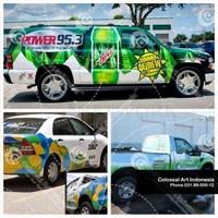 Jual Branding Mobil Montor perusahaan