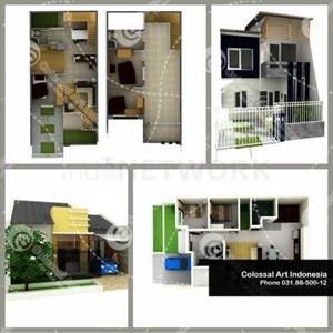 Jasa Desain Arsitektur Dengan Biaya Murah Bergaransi By CV. Colossal Art Indonesia