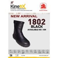 Safety Shoes 1802 Black Kx