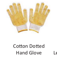 Cotton Dotted Hand Glove
