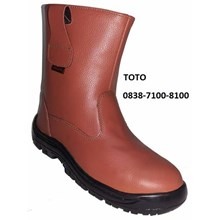 SAFETY SHOES NBR 802  TAN HDM