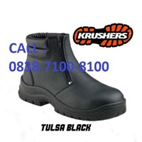 SAFETY SHOES KRUSHER TULSA BLACK