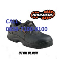 SAFETY SHOES KRUSHER UTAH BLACK