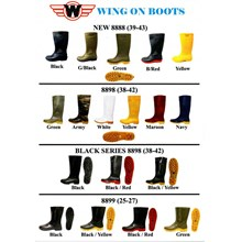 SAFETY SHOES BOOT WING ON