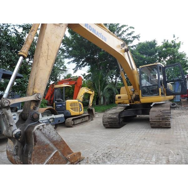 FOR RENTAL - SEWA :Excavators  Komatsu PC200 - PC200-7 - PC200-8