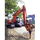 Excavators Hitachi EX100 with Breaker 10 ton RENTAL 4