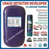 P 721 Crack Detector Develover Kimia Mengangkat Kotoran Pada Logam