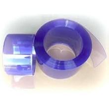 PVC Strip Curtain Blue Clear ( Tirai Plastik Biru )
