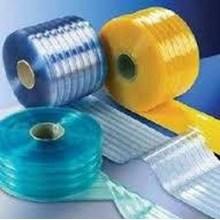 PVC STRIP CURTAIN RIBBED ( Tirai Plastik )