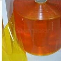 PVC Strip Curtain Orange ( Tirai Plastik )