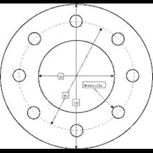 Rubber Gasket EPDM Ring RF FF