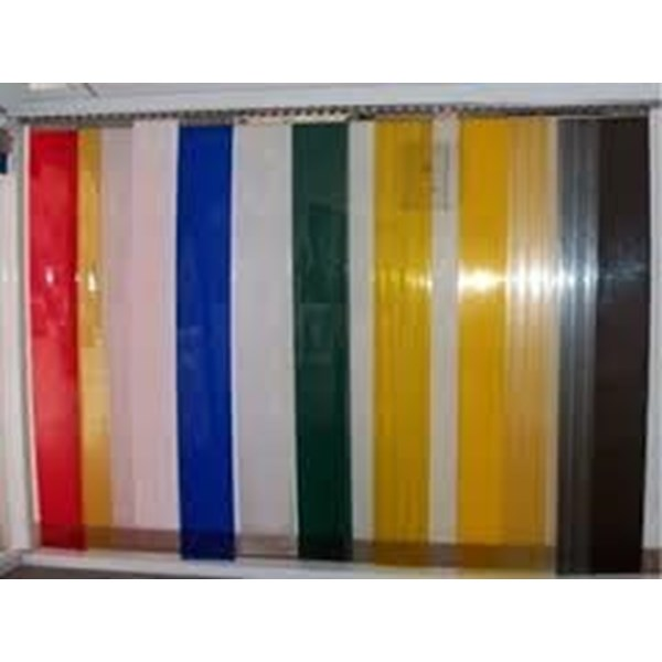 PVC STRIP CURTAIN (Yellow Bandung Tirai)