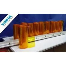 tirai Strip Kuning surabaya timur PVC