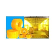 Tirai PVC Curtain Kuning Anti Serangga