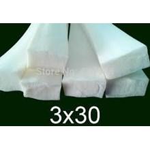 Karet Sponge Silicone Strip White Putih ( Kotak )