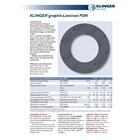 Klinger PSM 200B Graphite ( Gasket ) 1
