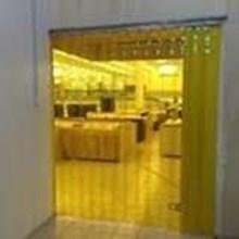 Tirai PVC Curtain ( PVC Kuning Plastik )