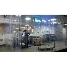 Tirai Curtain PVC Cold Room Penyekat Gudang