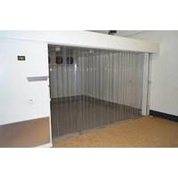 PVC Strip Curtain Transparan Bening Cirebon