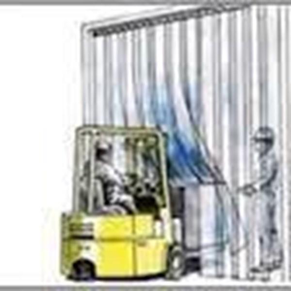 Tirai Plastik Curtain Balikpapan Kuning