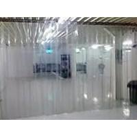 Tirai PVC Curtain Bening di Cilegon kota