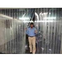 Distributor  Tirai PVC Penyekat ( Curtain Bening Bali ) 3