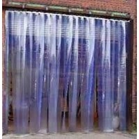 Tirai PVC Strip Curtain Bening Bali