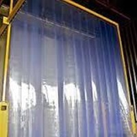 Distributor PVC Strip Curtain Blue Bening Murah 3