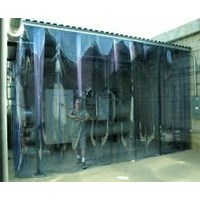 Distributor Strip Curtain Wall tirai plastik 3