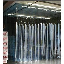 Strip Curtain Wall tirai plastik